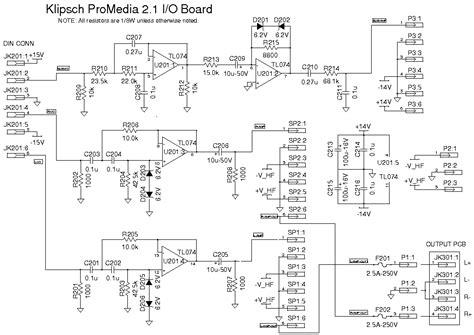 klipsch promedia 2 1 wiring diagram wiring diagram with
