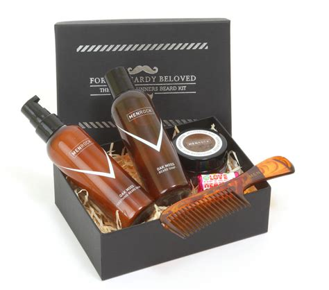 Set Mousthace beard and moustache care gift set by rock