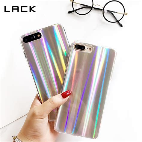 lack colorful phone case  iphone  cool laser rainbow