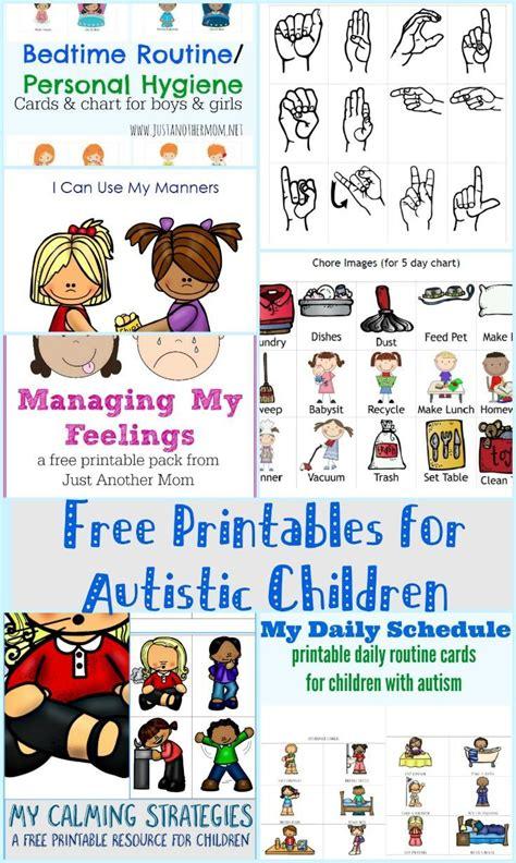 printable art resources autism hyperlexia sensory processing disorder