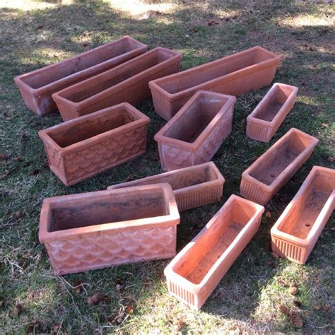 Clay Planters For Sale by For Sale 11 Terra Cotta Clay Planters The Millstone