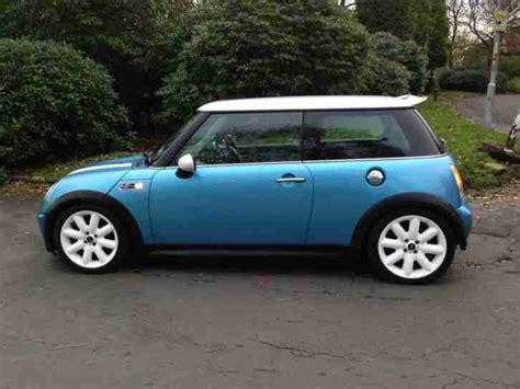 Wheels 2002 Editions 2001 Mini Cooper mini 2002 02 cooper s blue leather xenon white wheels drives car for sale