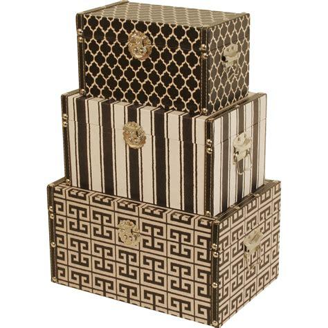 decorative boxes wayfair waldimports 3 piece decorative box set reviews wayfair