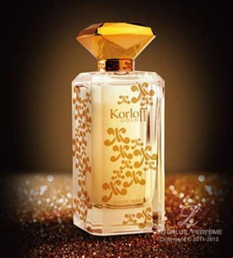 Parfum Korloff korloff gold new perfume perfumediary