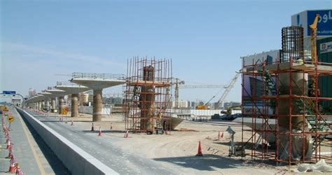 pier head construction seismic analysis of viaduct substructures on the dubai