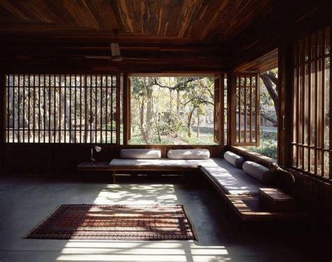 zen interior design rustic zen interior design with wide glass window also