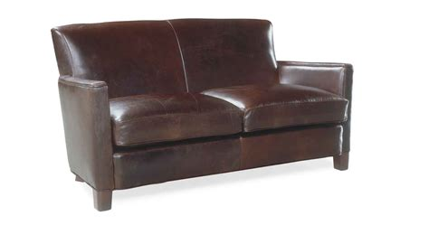 Circle Furniture Trent Leather Loveseat Loveseats Sofa And Loveseat