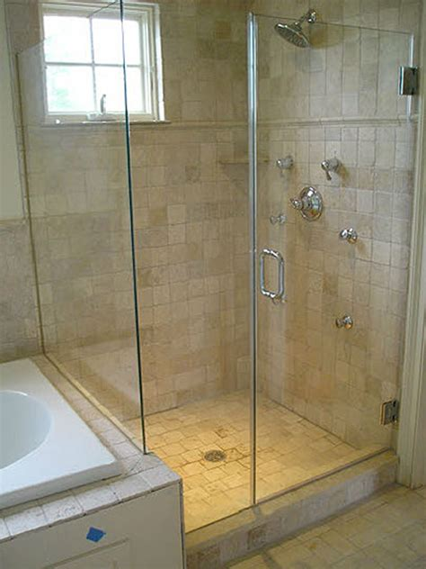 Installation Of Shower Doors Inline Frameless Shower Enclosure Frameless Steam Shower Va