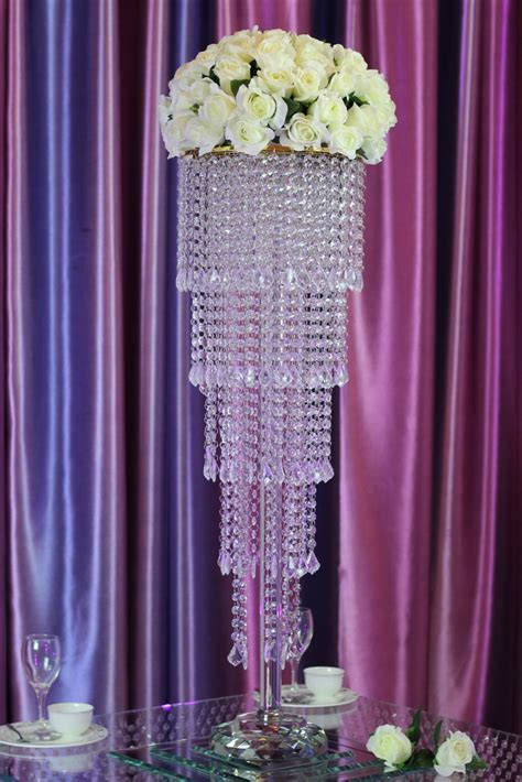 Wholesale crystal centerpiece for wedding table decoration