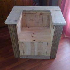 fauteuil cube palettes bois on garden pallet bricolage and pallets