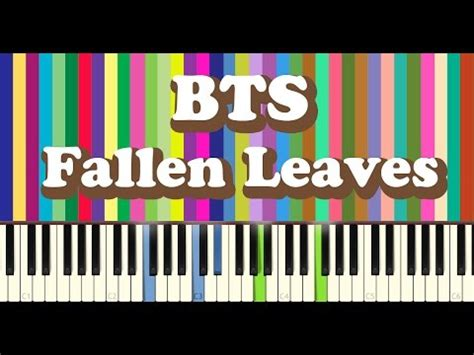 download mp3 bts fallen leaves bts 방탄소년단 고엽 fallen leaves piano cover youtube