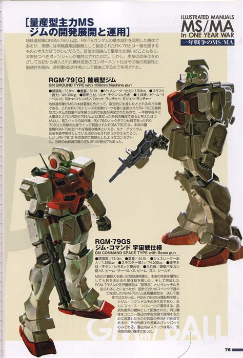 One Year Manual illustrated manuals ms ma in one year war part 2 gundam