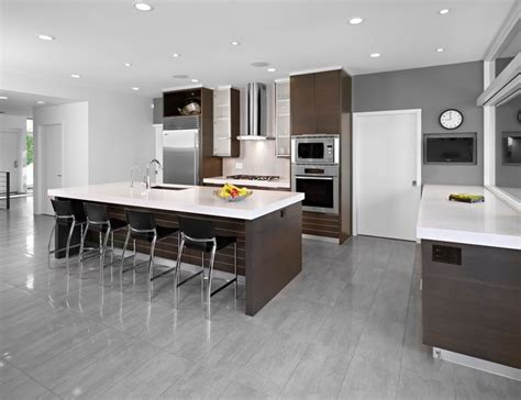 modern kitchen flooring ideas sd house modern kitchen edmonton by thirdstone inc