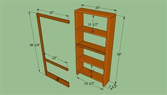 Build Wall Bookshelves How To Build A Bookcase Wall Howtospecialist How To
