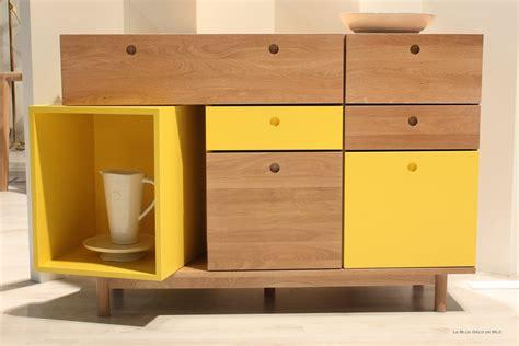 Ordinaire Meuble Salle De Bain Ikea Occasion #2: tendance-meuble-design-bois-clair-et-jaune.jpg