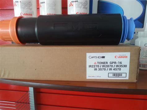 Toner Canon Ir 3570 toner canon ir 3570 4570 2870 carthex gpr15 16 1100grm