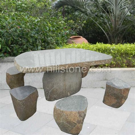 stone bench and table granite table stone table set granite bench garden stone