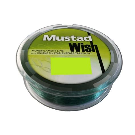 Mustad Wish Monofilament Fishing Line 300m 33lb1502kg055mm mustad bloodworm size 12 bulk 10 pce value pack 90234npnr chemically sharpened mustad