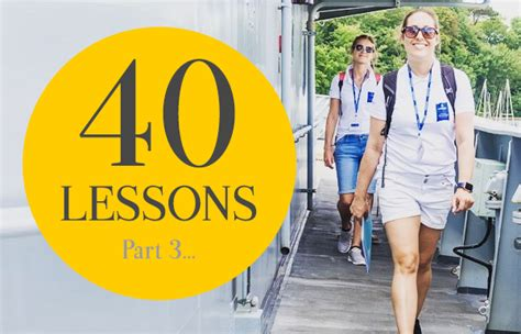 40 lessons to get 40 lessons part 3 customers in the bag