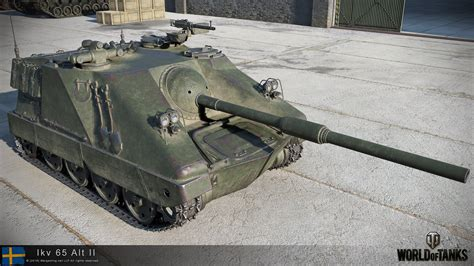 wot ii world of tanks swedish lkv 65 alt ii official pictures