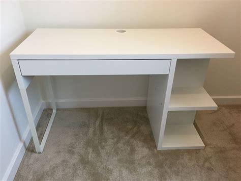 ikea micke desk white in wareham dorset gumtree