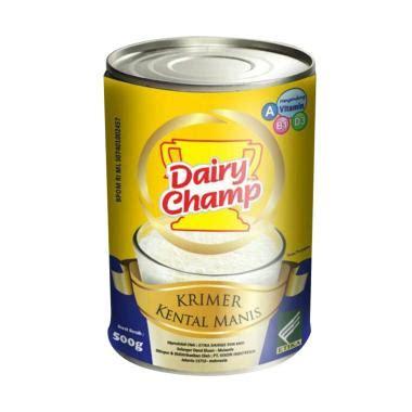 jual dairy ch sweetened creamer kental 500 gr 48 tins harga kualitas