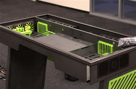Pc Moding Modif Custom geforce garage cross desk series 1 how to modify