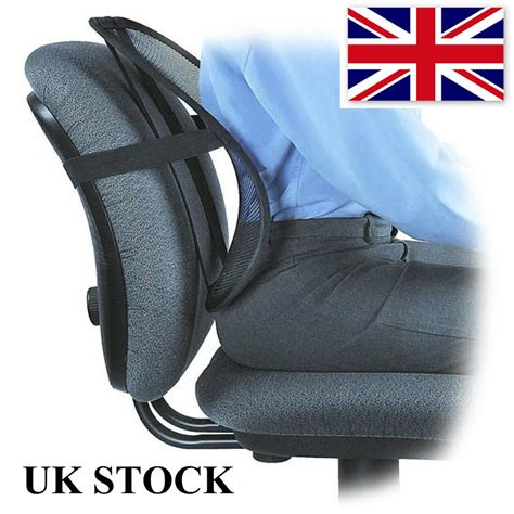 Lumbar Spine Support Chair by Back Support Lumbar Cushion Relief Car Seat Chair