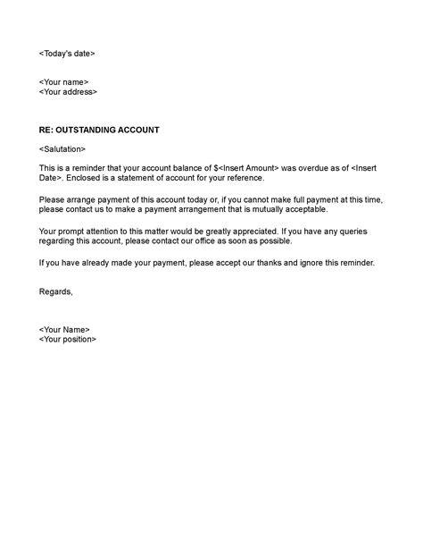 best photos of delinquent account letter explanation