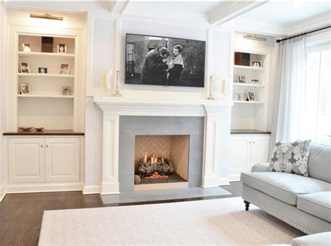 Fireplace Cabinet Ideas traditional kitchen with storage ideas home bunch