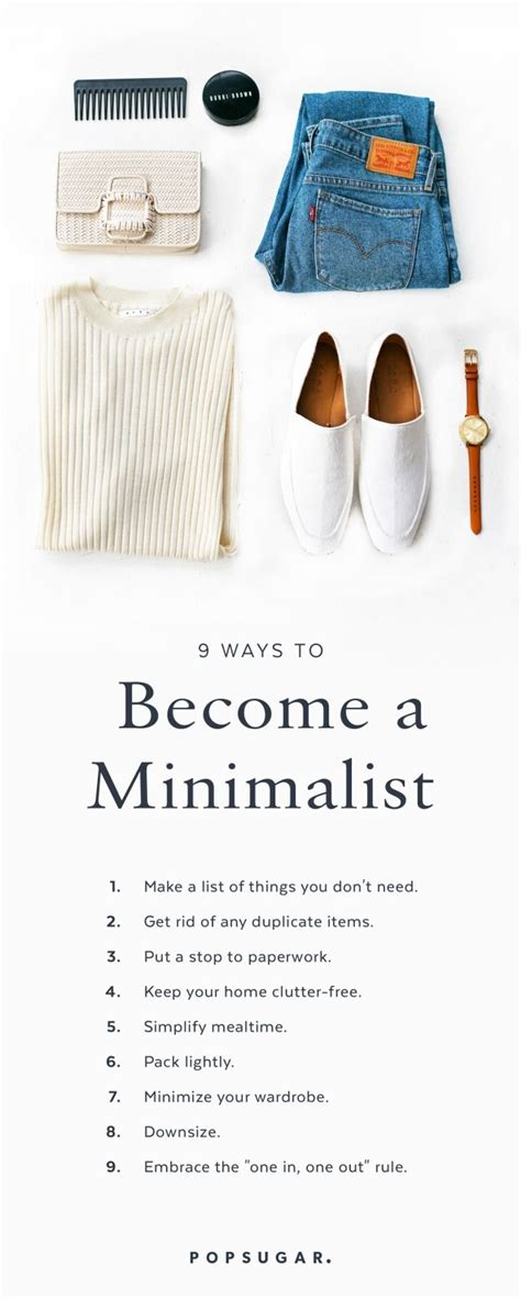 Ways Become New Again With Shopping That Is by 9 Ways To Be A Minimalist Garderob Livet Och Inredning