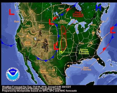 us weather map october thunderstorms and flash floods expected