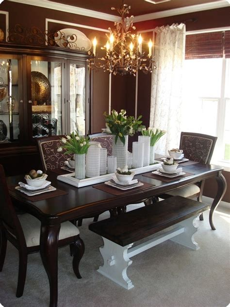 Dining Room Table Centerpiece Decorating Ideas 61 Stylish And Inspirig Table Decoration Ideas Digsdigs