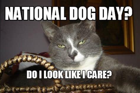 national puppy day meme meme creator national day do i look like i care meme generator at memecreator org