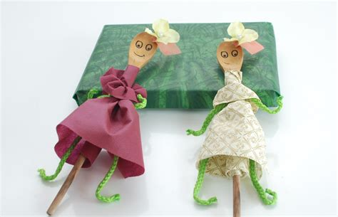 How To Make Puppet With Paper - how to make a wooden spoon puppet 5 steps with pictures