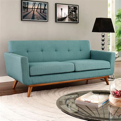 light blue loveseat modern loveseats empire light blue loveseat eurway