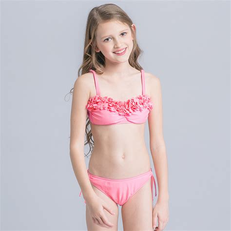 child girl swimwear bikinis aliexpress com buy 2017 handmade floral bikini for girls