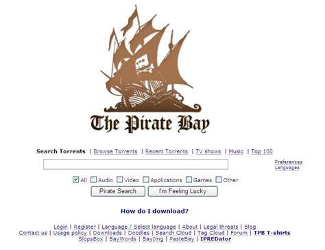 pirate bay the pirate bay gets pirated the circular