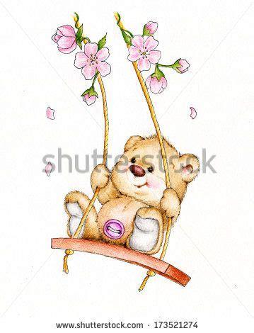 swing by ã ver 721 melhores imagens de ursinhos no pintura em