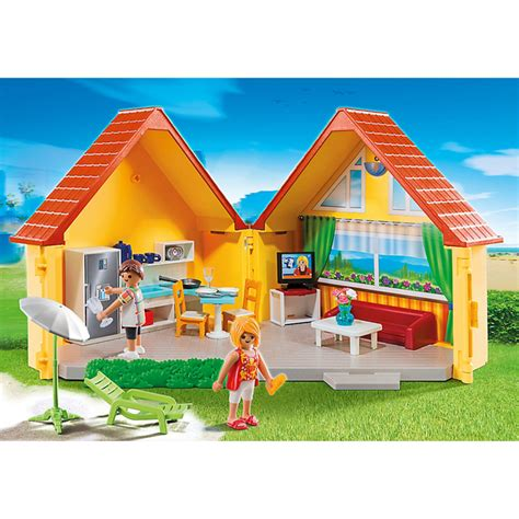 playmobil house playmobil summer fun country house 6020 iwoot