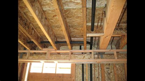 load bearing wall beam in attic how to structurally support load bearing walls truss
