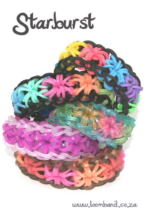 Starburst loom band tutorial   LoomBand