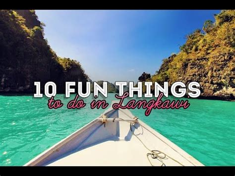 top things to do in langkawi malaysia funnydog tv