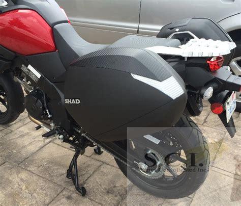 Suzuki V Strom 650 Saddlebags Suzuki V Strom Vstrom 1000 Dl1000 Shad Sh36 Side