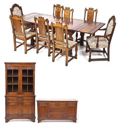 jacobean dining room set john stuart jacobean revival dining room set