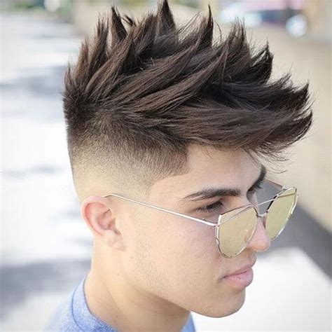 spiked haircuts medium length 50 spiky hairstyles for men men hairstyles world