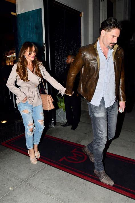 sofia vergara engaged to joe manganiello but dont sofia vergara and joe manganiello are spotted walking hand