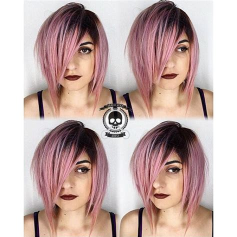 pin by peachy roots on warm pink hair color with shadow root by rickey zito pink