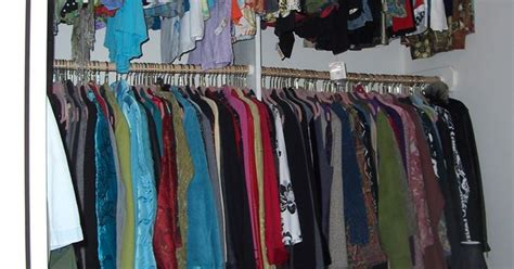 Closet Of Guilt And Pleasure by Hanging Racks Walk In Closet Ideas