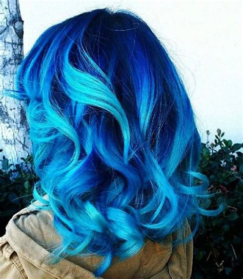 hair color for 40 with blie best 20 blue ombre hair ideas on pinterest